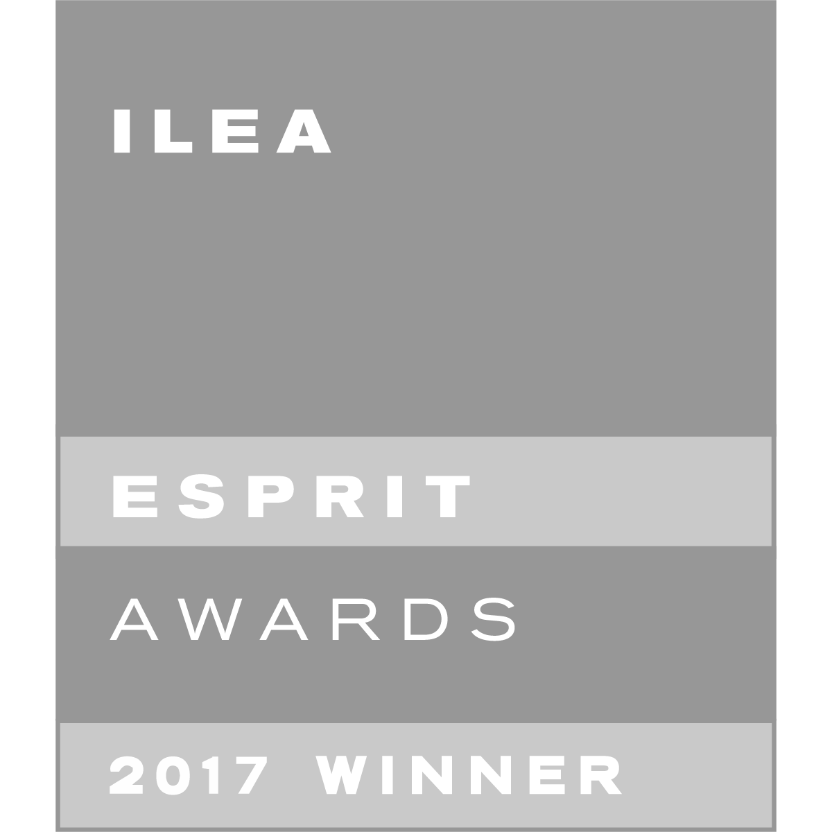 2017 ILEA Esprit Award Nominee — Best Industry Innovation